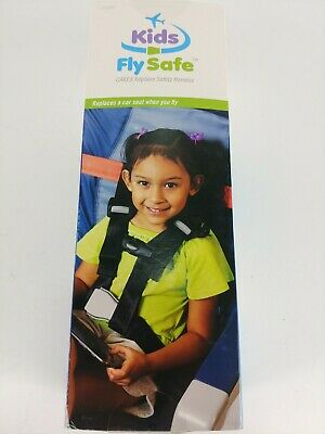 Kids Fly Safe Cares Airplane Safety Harness Open Box
