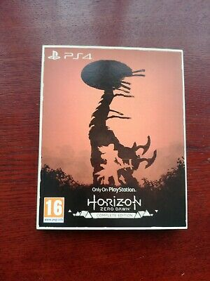 COLLECTION ONLY PS4 Horizon Zero Dawn Complete Only on Playstation Edition