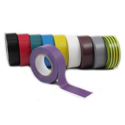 Ruban Isolant 590-1910RB Rainbow Ensemble 19mm Qualité Industrielle Isoband