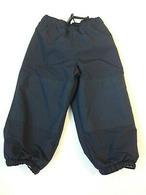 Kids Lands End Snow Ski Pants size 4 blue boys girls