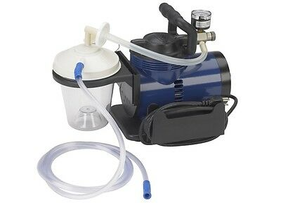 Drive Medical 18600 Suction Pump Portable Home Heavy Duty Aspirator Machine ~NIB