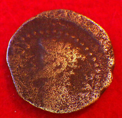 AUGUSTUS  10 BC   Detailed Provincial Coin: Spain   (GREAT REVERSE with Wreath )