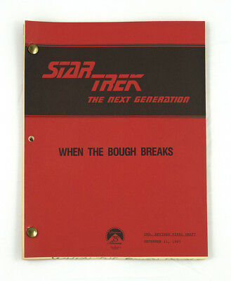 """When the Bough Breaks"" - Star Trek: The Next Generation - Original Script"