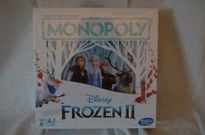 New In Box Frozen 2 II Monopoly Game Age 8+