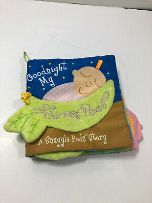 Manhattan Toy Snuggle Pods Goodnight My Sweet Pea Book
