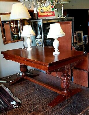 Table Extension Draw Leaf French Oak Antique France South Melbourne $200 off.