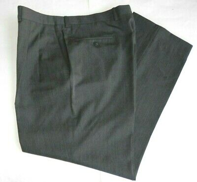 New men's Jack Victor Prossimo 100% Wool Pants Slacks 38 x 30 made Canada $225