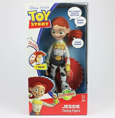 "Disney Pixar TOY STORY Talking Pull-string Jessie 15"" (38cm) Doll - Rare & HTF"