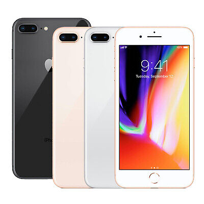 Apple iPhone 8 Plus 64/256 GB Unlocked Smartphone Space Grey Silver Gold