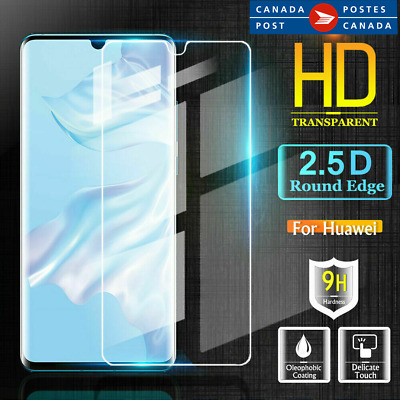 For Huawei P30 Pro P30 Lite Tempered Glass LCD Screen Protector Film Guard