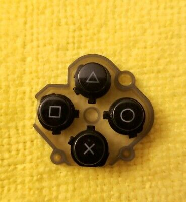 OEM PS Playstation VITA PCH-1000 Replacement Action Buttons ORIGINAL Black