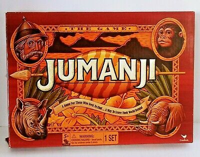 Cardinal Games Jumanji the Game Play Anywhere Edition Travel Size New Open Box