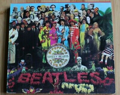 THE BEATLES SGT PEPPER'S LONELY HEARTS CLUB BAND ORIGINAL 1987 CD with BOOKLET