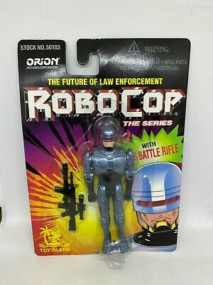 """Robocop The Series 4"""" Action Figure Toy Island 1995 MOC Vintage Brand New"""