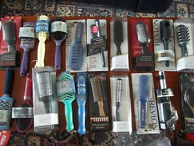 10 New Vidal Sassoon   /  Revlon Hair Brushes