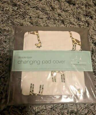 Lux boutique Aden & Anais changing pad cover jungle jam giraffe (discontinued)