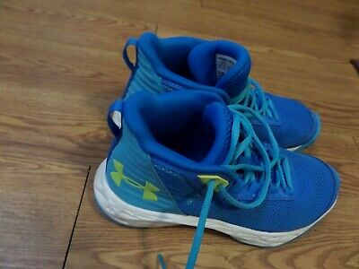 Under Armour Golden State Boys Girls Kids Youth Running Sneakers Shoes Size 4y
