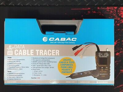 Cabac Data Cable Tracer