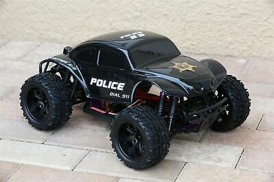 Custom Body Buggy Police Sheriff for Redcat Volcano 1/10 Truck Car Shell Cover