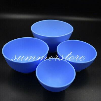 Dental Nonstick Flexible Rubber Impression Mixing Bowl Alginate 4 Sizes Optional