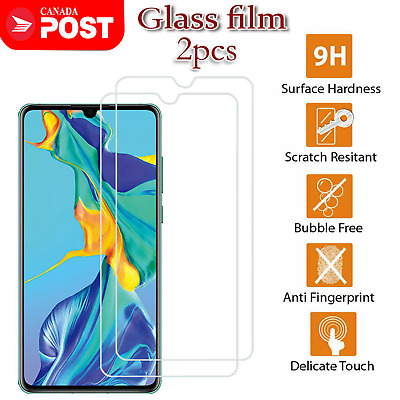 For Huawei P30 Lite P30 Pro Full Coverage Tempered Glass LCD Screen Protector.