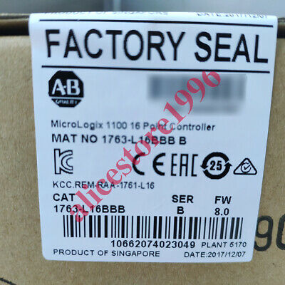 2019 Allen-Bradley MicroLogix1100 16 Point Controller 1763-L16BBB Tool US Fast