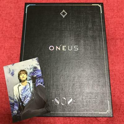 Used ONEUS 808 First Limited Edition CD DVD Photobook Ravn Photocard Japan