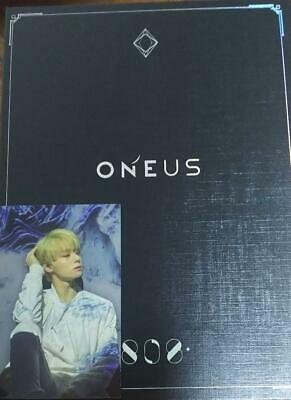 Used ONEUS 808 First Limited Edition CD DVD Photobook Hwanwoong Photocard Japan