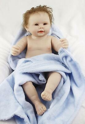 Reborn Baby Dolls Boy Full Body Silicone Lifelike Doll 22 Inchs 55 Cm Anatomical