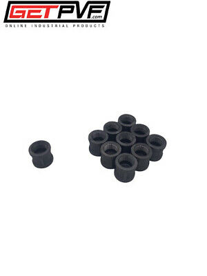 """[10] 3/4"""" Threaded Black Malleable Iron Pipe #150 Coupling Fitting"""
