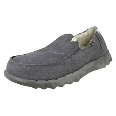 Mens Hey Dude Casual Slip On Shoes 'Farty Chalet'