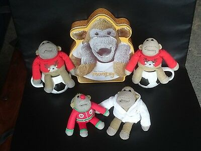 PG TIPS MONKEY Comic Relief Biscuit Storage Tin Collectible