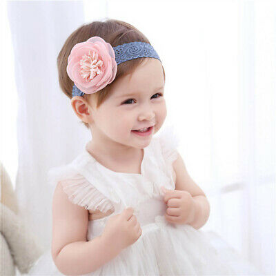 Big Flowers Cute Baby Hairband Infant Headdress Girl Headband Cute Headwear