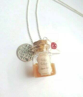 Fairytale Love Potion Magic Witch Harry Potter Necklace Unusual Gift