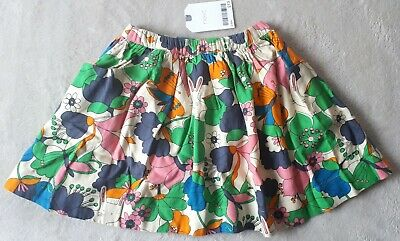 BNWT Next Girls 2-3 Years Skirt, Floral, Bunny Design, Lined
