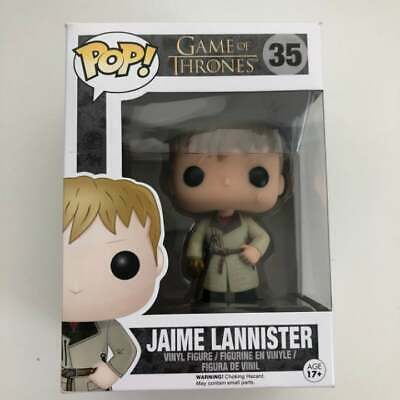 Funko Pop HBO Game of Thrones   Jaime Lannister Gold Hand #35 Vaulted