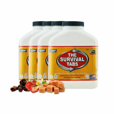 Survival Tabs SHTF Bugout Food - 60-Day Food Supply Emergency Survival SHTF
