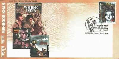 India Fdc 2009  Mehboob Khan Movie Director Mother India
