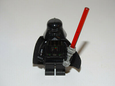 Lego Darth Vader (White Pupils)with light saber From Set 7965 - Good Condition