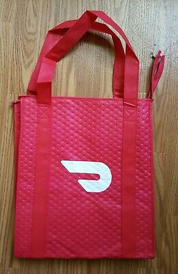 DoorDash Food Delivery Insulated Bag With Zipper NEW - never used
