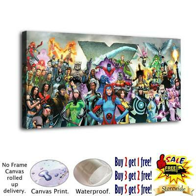 """12""""x26"""" Superheroes HD Canvas prints Painting Home decor Pictures Room Wall art"""