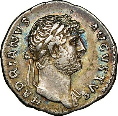 HADRIAN - NGC Ch VF 4/5 4/5 - Very Affordable Example of this DENARIUS - 062