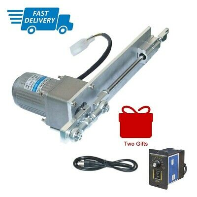 1Pc AC220V Linear Actuator Reciprocating Motor 180RPM 120W With Speed Controller