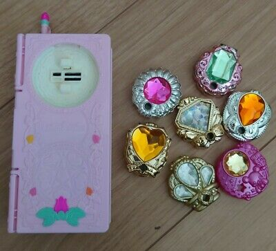 Smile Pre Cure Pretty Kawaii Girls Toy Set Pact Princess rod Decollet de call
