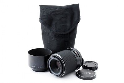 Pentax SMC Macro Takumar 100mm f/4 M42 Lens w/Hood,Case From Japan [3935]