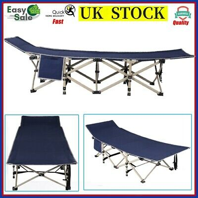 Hot 6.5 FT Single Fold Up Bed Office Camping Camp Travel Guest Visitor Bed 250KG