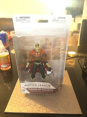 New Justice League Throne Of Atlantis Ocean Master Action Figure #14 DC Official