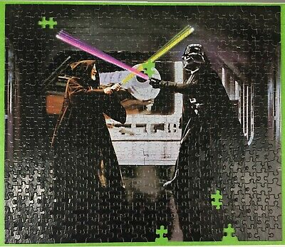 1977 Star Wars Darth Vader Ben Kenobi Kenner Puzzle 40130 - SELLING BY THE PIECE