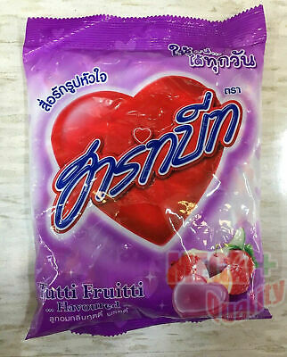 100 tablets Sweet and Sour Tutti Fruitti Flavour Candy Heartbeat Tropical Fruit