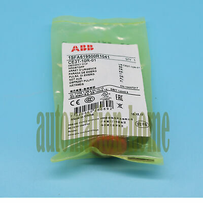 NEW For ABB CE3T-10R-01 Emergency Stop Pushbotton Switches Fast delivery#XR
